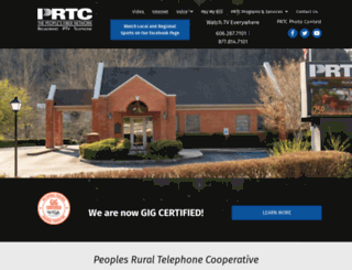 prtcnet.org screenshot