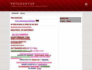 prtuguntur.webs.com screenshot