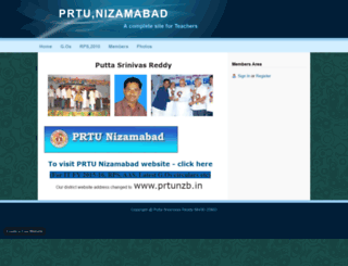 prtunzb.webs.com screenshot