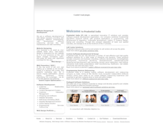 prudentialindia.com screenshot