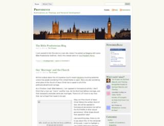 prussic.wordpress.com screenshot