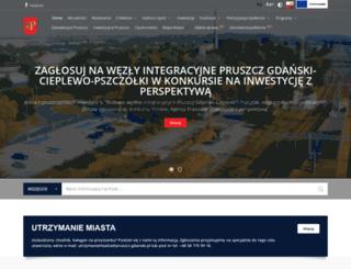 pruszcz-gdanski.pl screenshot