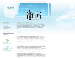 pruthvicybertech.com screenshot