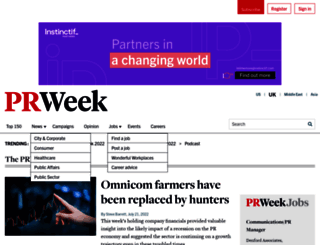 prweekblog.prweek.com screenshot