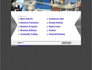 prxm.info screenshot