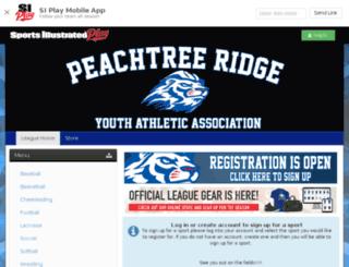 pryaa.sportssignupapp.com screenshot