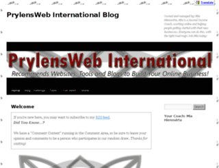 prylenswebinternational.com screenshot