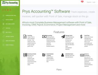 prys.co.za screenshot