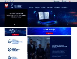 prz.rzeszow.pl screenshot