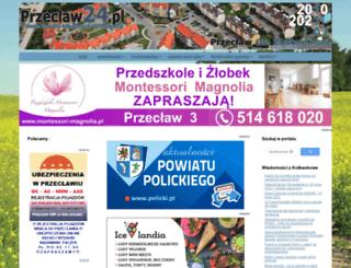 przeclaw24.pl screenshot