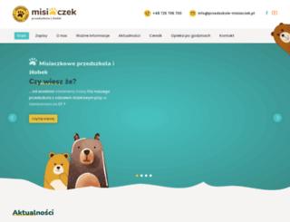 przedszkole-misiaczek.pl screenshot