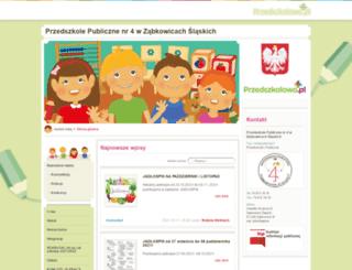 przedszkole4.przedszkolowo.pl screenshot