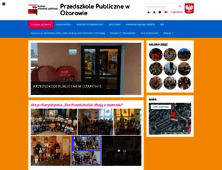 przedszkoleozarow.edupage.org screenshot