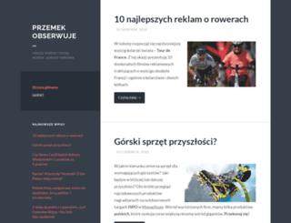 przemeke.wordpress.com screenshot