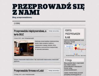 przeprowadzsie.wordpress.com screenshot