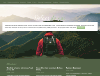 przewodnicy.beskidy.pl screenshot