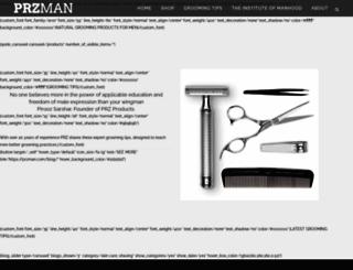 przman.com screenshot