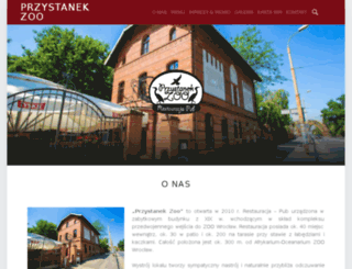 przystanekzoo.com screenshot
