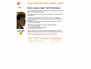 ps-marketing.nl screenshot