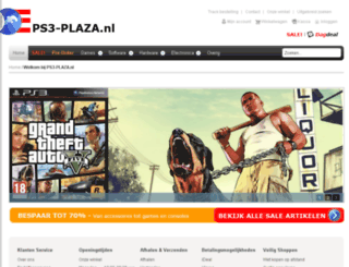 ps3-plaza.nl screenshot