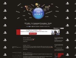 ps3addict.frenchboard.com screenshot
