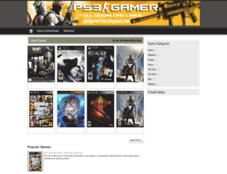 ps3game-free.blogspot.com screenshot