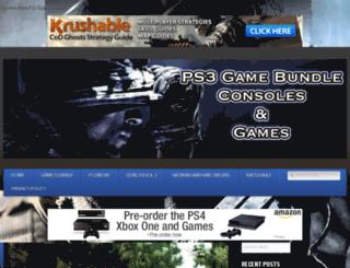 ps3gamebundle.com screenshot