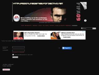 ps3onlinegames.foroactivo.net screenshot