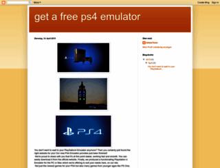 ps4-emulator06.blogspot.de screenshot