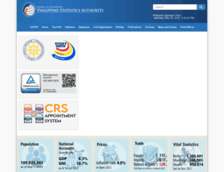 psa.gov.ph screenshot