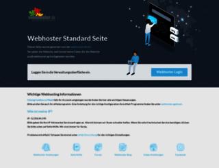 psa8.webhoster.ag screenshot