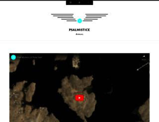 psalmistice.com screenshot