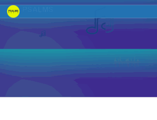 psalmsradio.com screenshot