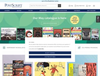 psbooks.co.uk screenshot