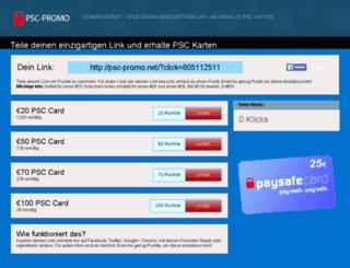 psc-promo.net screenshot