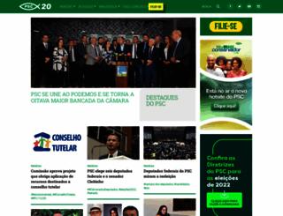 psc.org.br screenshot