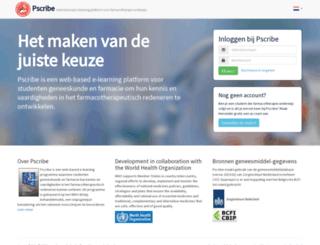 pscribe.nl screenshot