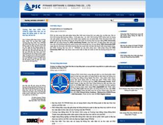 psctelecom.com.vn screenshot