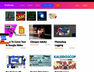 psd-dude.com screenshot