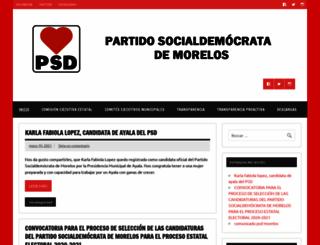 psd.org.mx screenshot