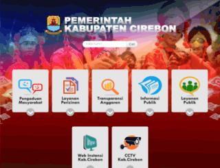 psdap.cirebonkab.go.id screenshot