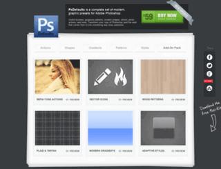 psdefaults.com screenshot