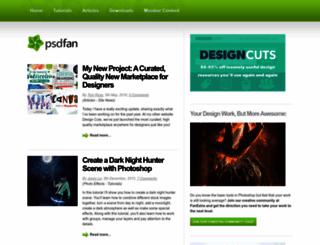 psdfan.com screenshot