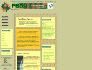 psdn.org.ph screenshot