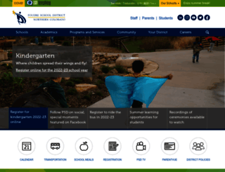 psdschools.org screenshot