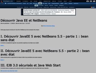 psecheresse.developpez.com screenshot