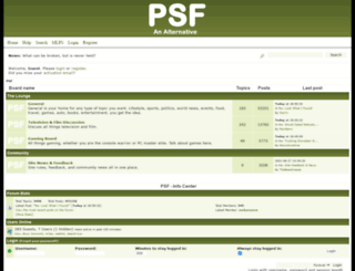 psfforum.com screenshot