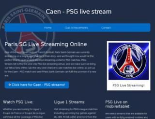 psg-stream.net screenshot