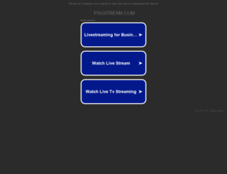 psgstream.com screenshot