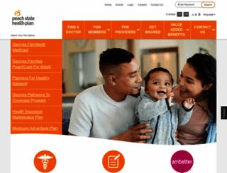 pshpgeorgia.com screenshot